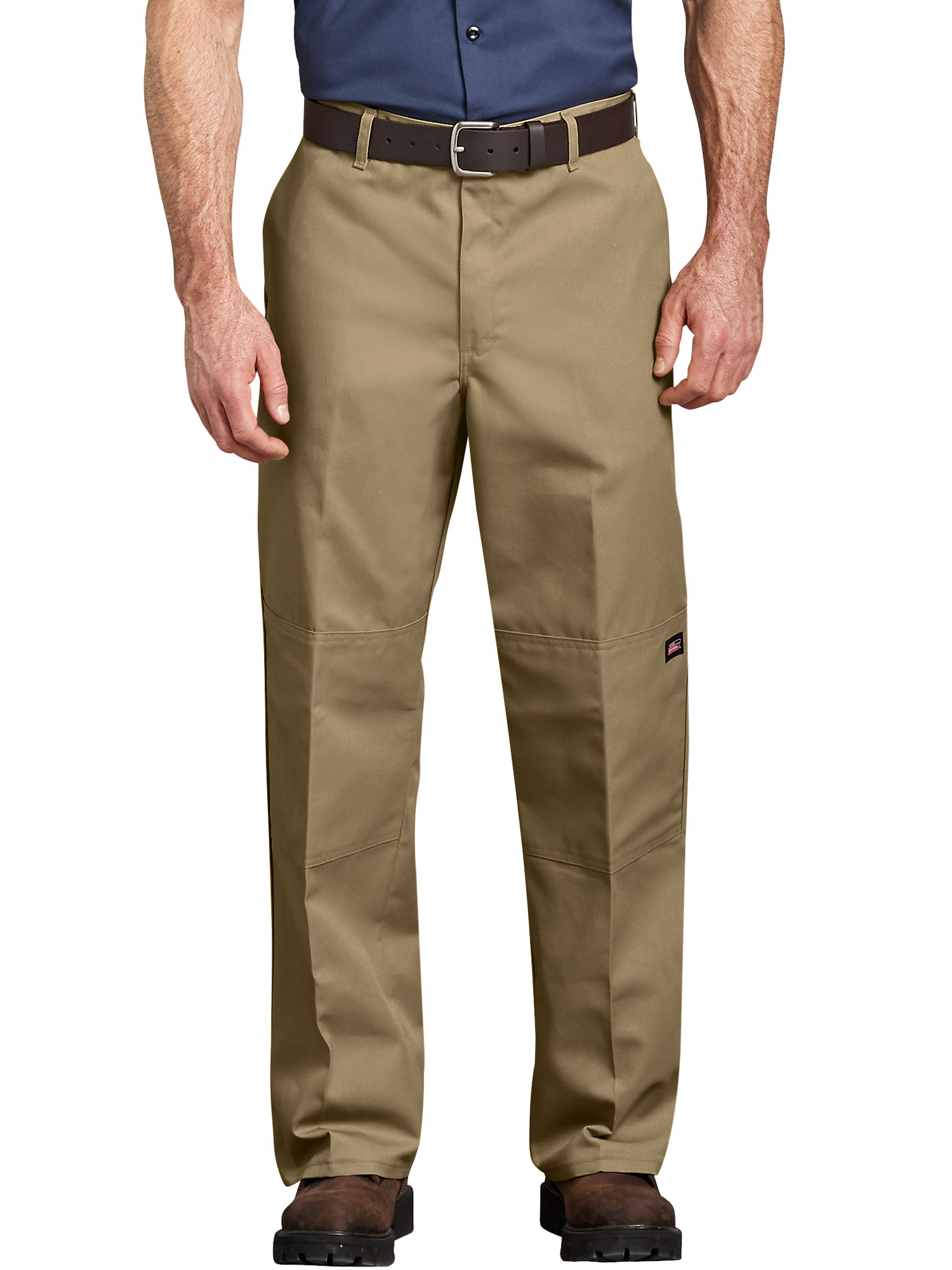 Genuine Dickies Big Men's Loose Fit Double-Knee Work Pants