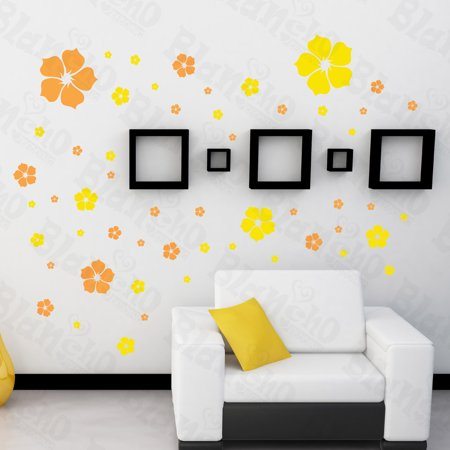 Pink Warm Flower - Large Wall Decals Stickers Appliques Home