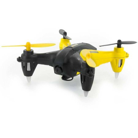 TDR 61351 TDR Robin Pro 5.8G FPV RC Quadcopter with 720P HD Camera and 8G Micro SD Card, Black/Yellow