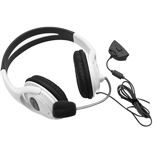 Arsenal Gaming Xbox 360 Headset, Black or White
