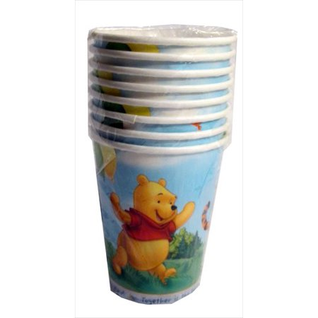 Winnie the Pooh 'Pooh's Fun Celebration' 9oz Paper Cups (8ct)