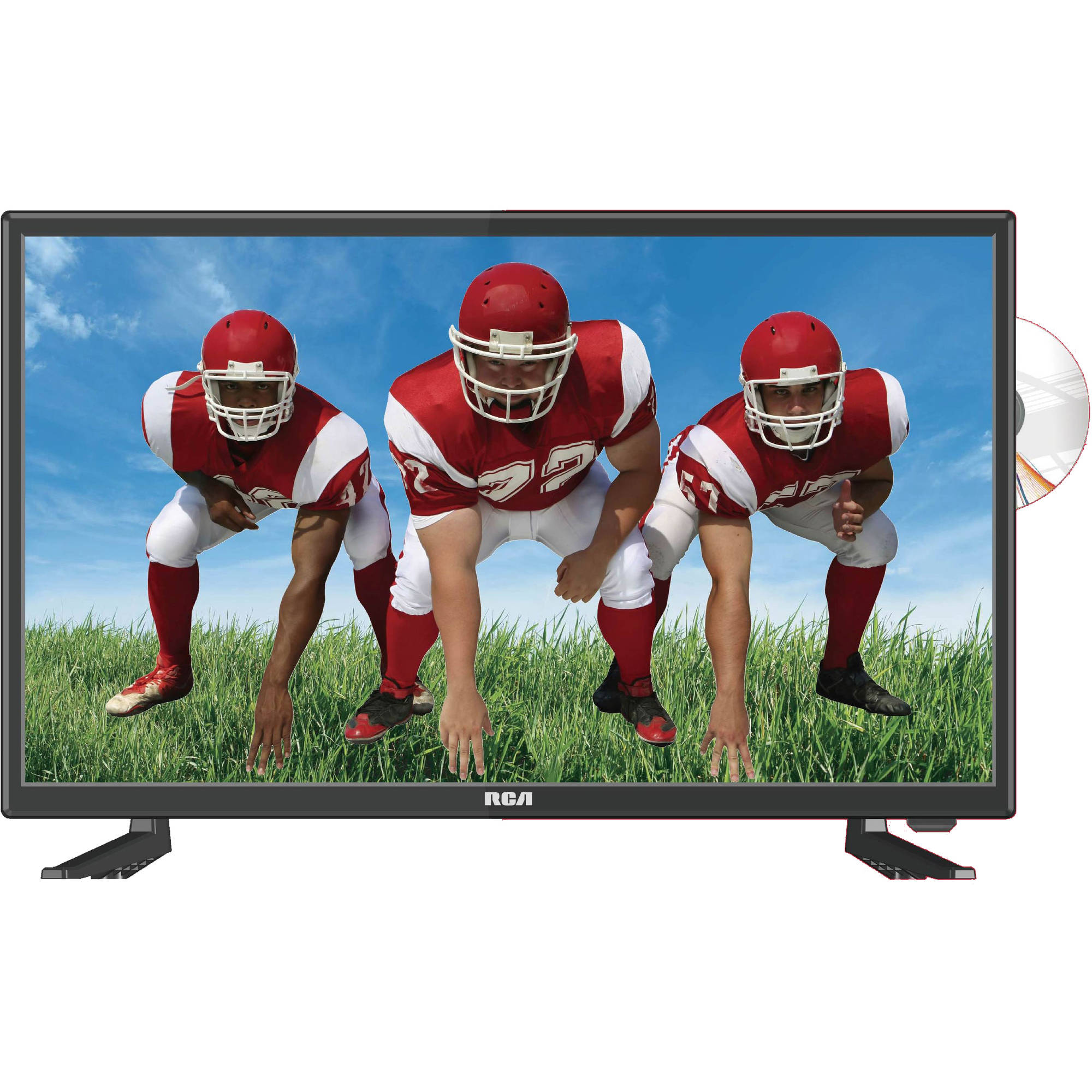 "RCA 24"" Class FHD (1080P) LED TV (RTDVD2409) with Built-in DVD"