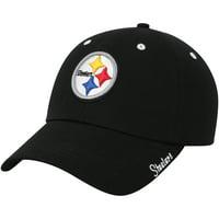 Product Image Women s Black Pittsburgh Steelers Miata Adjustable Hat - OSFA c87fdf684