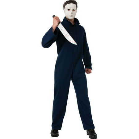 Halloween Adult Deluxe Michael Myers Costume](Michael Myers Halloween Costumes)