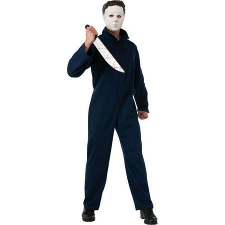 Halloween Adult Deluxe Michael Myers Costume - Michael Myers Songs Halloween