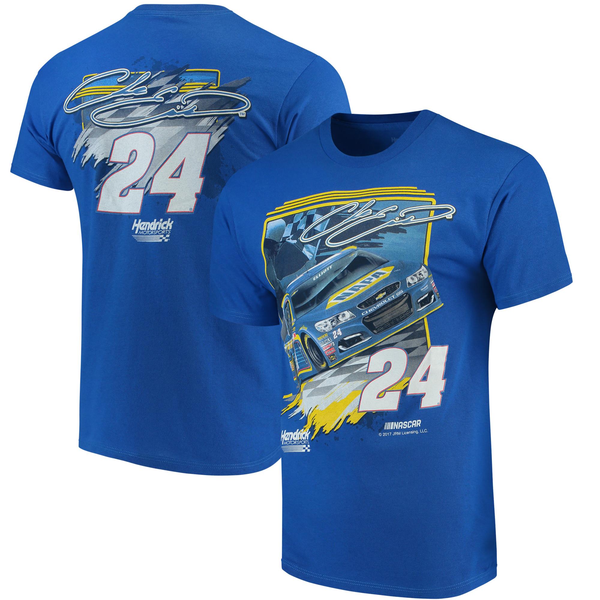 Chase Elliott NAPA Victory Lane T-Shirt - Royal