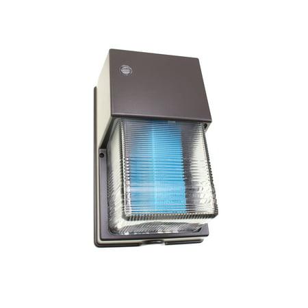 NSI WPGC100MHQ Mini Metal-Halide Wall-Pack Light Fixture, 100W MH, MVOLT Metal Halide Wallpacks