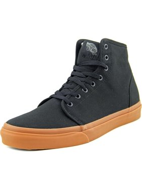 c21aa7ff38 Product Image Vans 106 Hi Men Round Toe Canvas Black Sneakers