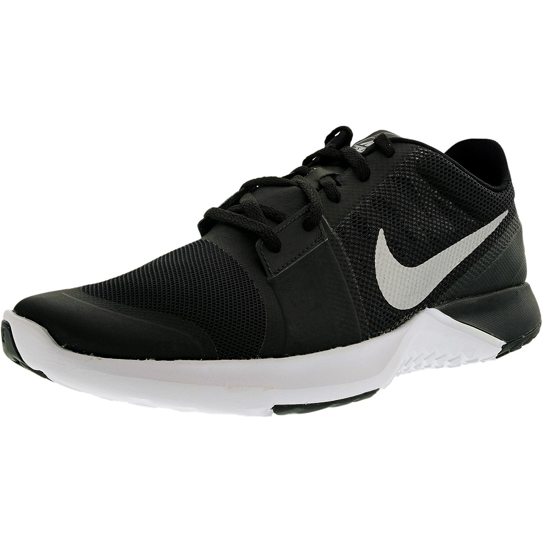 Nike Men's Fs Lite Trainer 3 Black/Metallic Silver/Anthracite/White Ankle-High Running Shoe - 10M