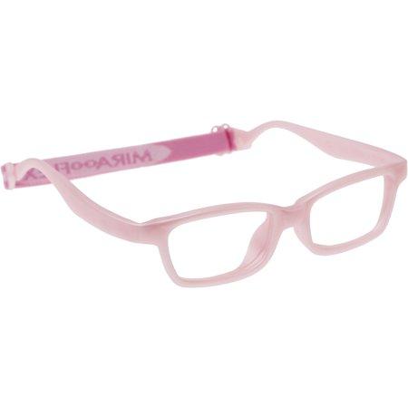 fb37dfc8f967 Miraflex Mayan42 Blush Pink Kids Glasses Age 5 7yr