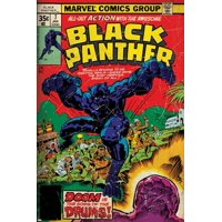 Marvel Comics Retro Style Guide: Black Panther Print Wall Art