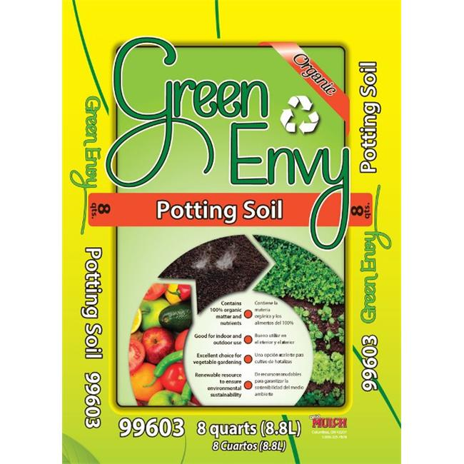 Ohio Mulch Supply 99603 Green Envy Potting Soil - 8QT