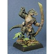 Reaper Miniatures Lizardman Archer #03706 Dark Heaven Legends Unpainted Metal