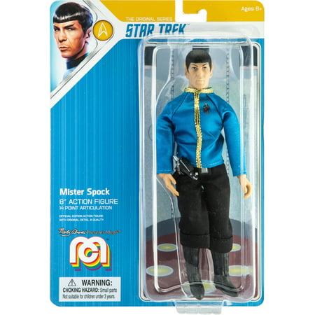"Mego Action Figure, 8"" Star Trek - Spock, Dress Uniform (Limited Edition Collector's Item)"
