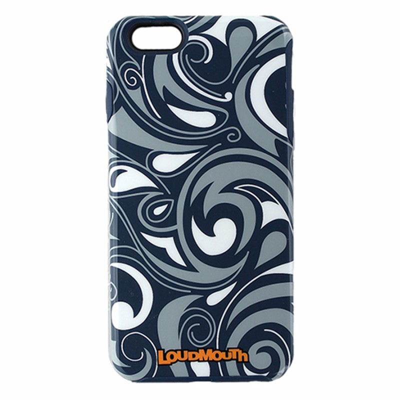 M-Edge LoudMouth Hybrid Case for iPhone 6 Plus/6s Plus - Navy Blue /Gray / White