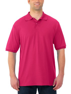 Jerzees Men's Spotshield Short Sleeve Polo Shirt