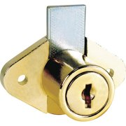 COMPX NATIONAL C8054-C413A-3 Standard Keyed Cam Lock, Key C413A