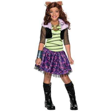 Monster High - Clawdeen Wolf Child - Monster High Clawdeen Wolf Costume