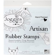 """Joggles Cling Stamp 2""""X3""""-Wonky House #3"""