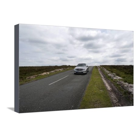 2013 Mercedes Benz C250 Cdi Coupe AMG Sport Stretched Canvas Print Wall