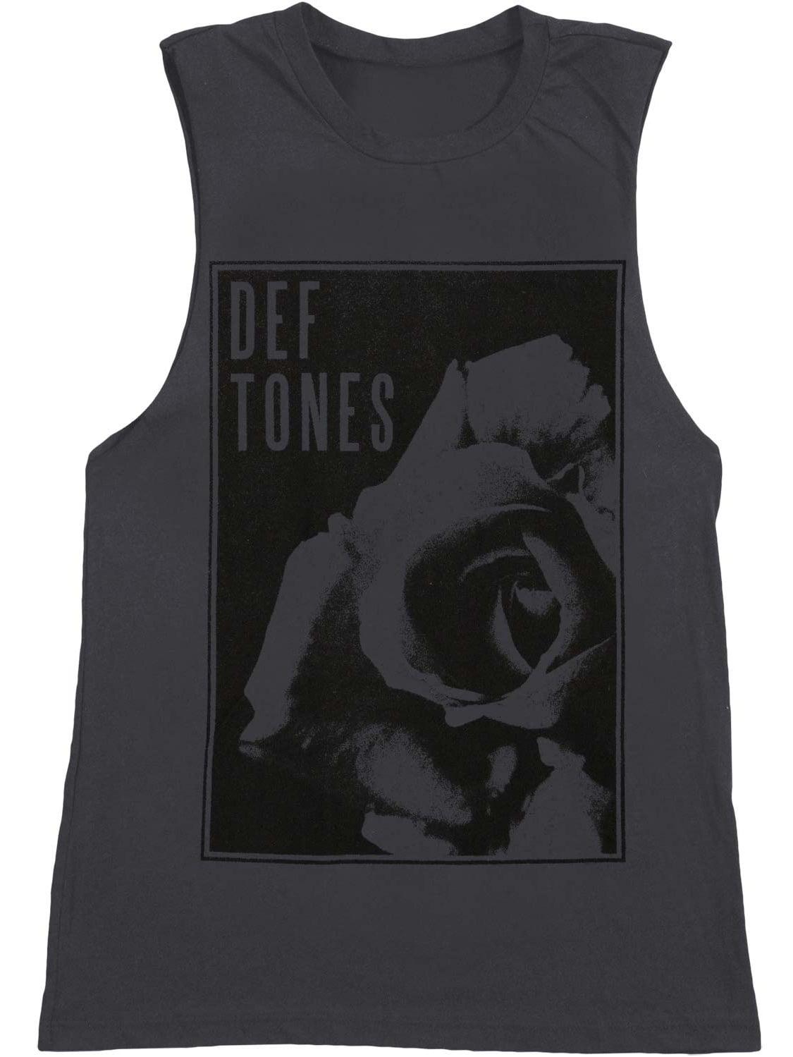 DEFTONES LOGO 2 Men/'s T-shirt Long Sleeve Shirt Tank Top Vest
