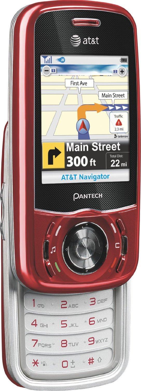 refurbished pantech matrix c740 quadband gsm cell phone for at t rh walmart com AT&T Pantech Swift User Manual Pantech Ease User Manual