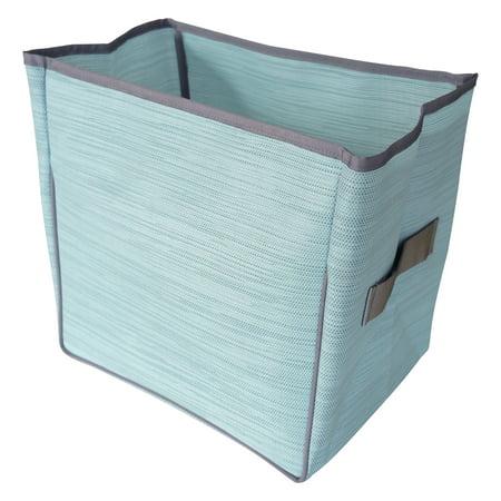 Pivoine Foldable storage basket in Sky Blue - Baskets In Bulk
