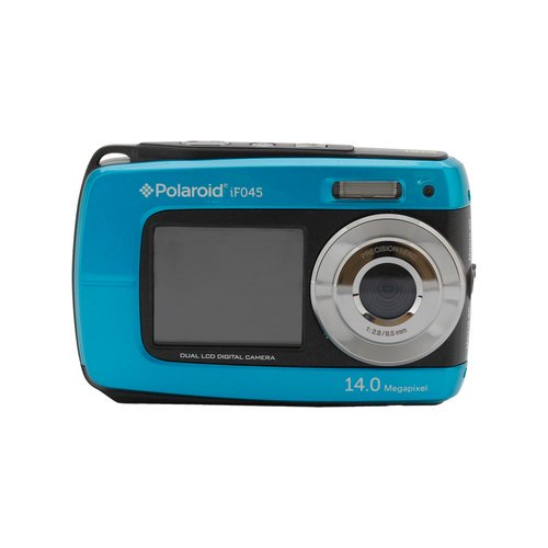 Polaroid all cameras polaroid if045 blue dual screen water proof camera fandeluxe Images