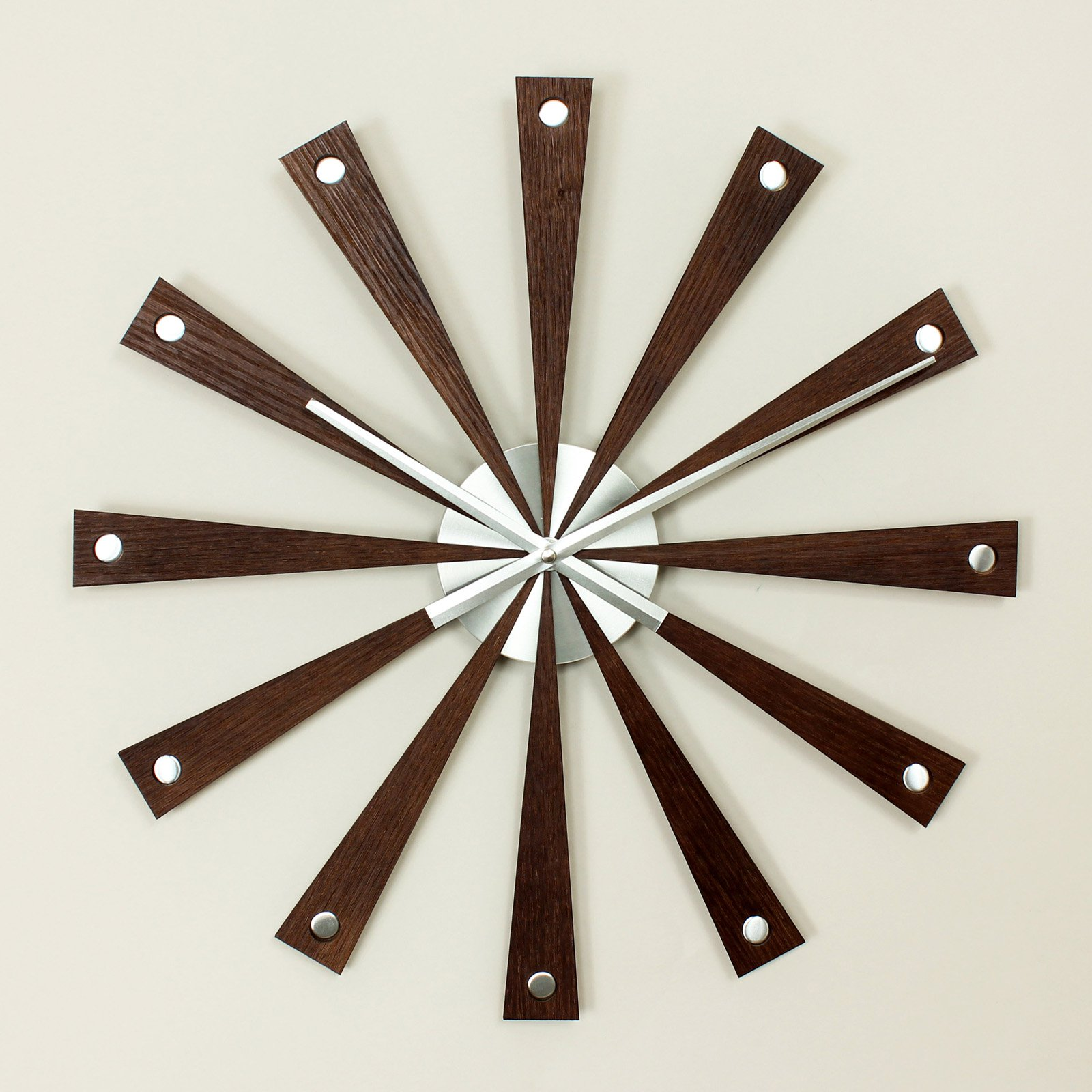 George Nelson Romer 19.25 in. Wall Clock