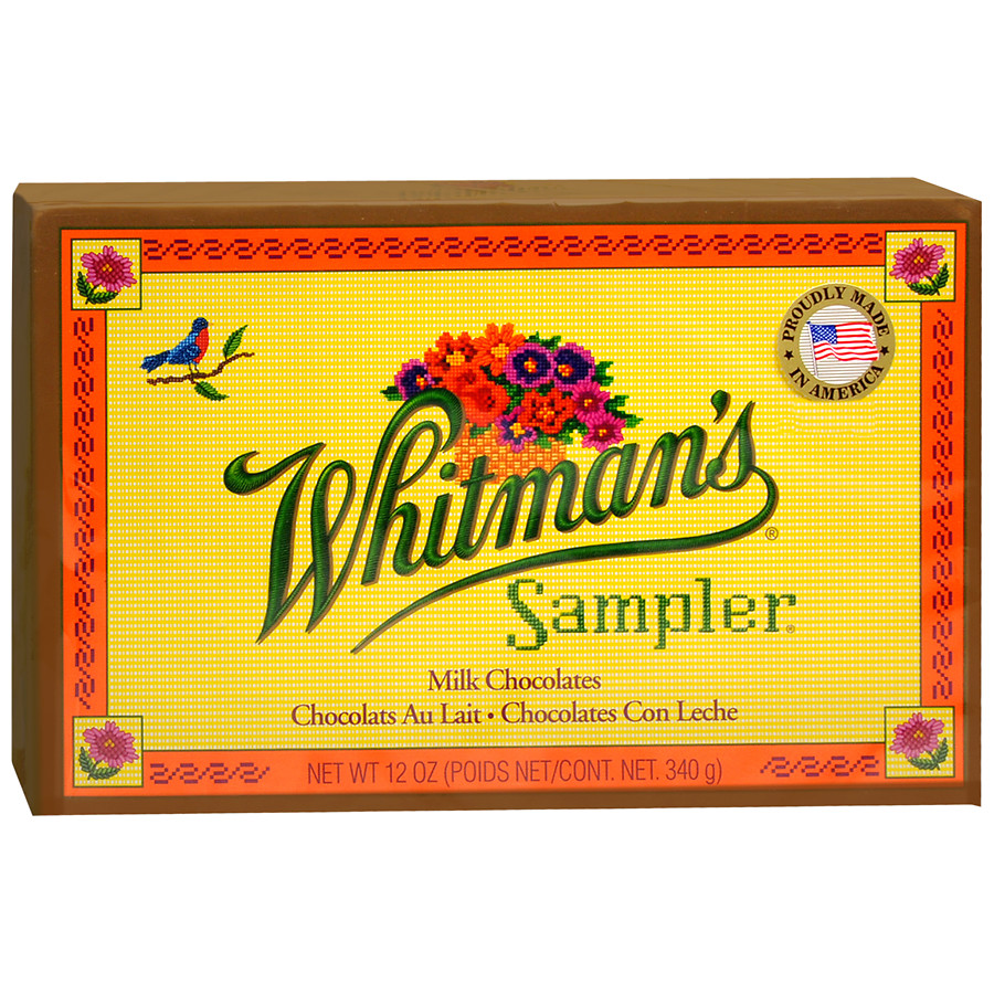 Whitman's Chocolate Sampler12.0 oz.(pack of 3)