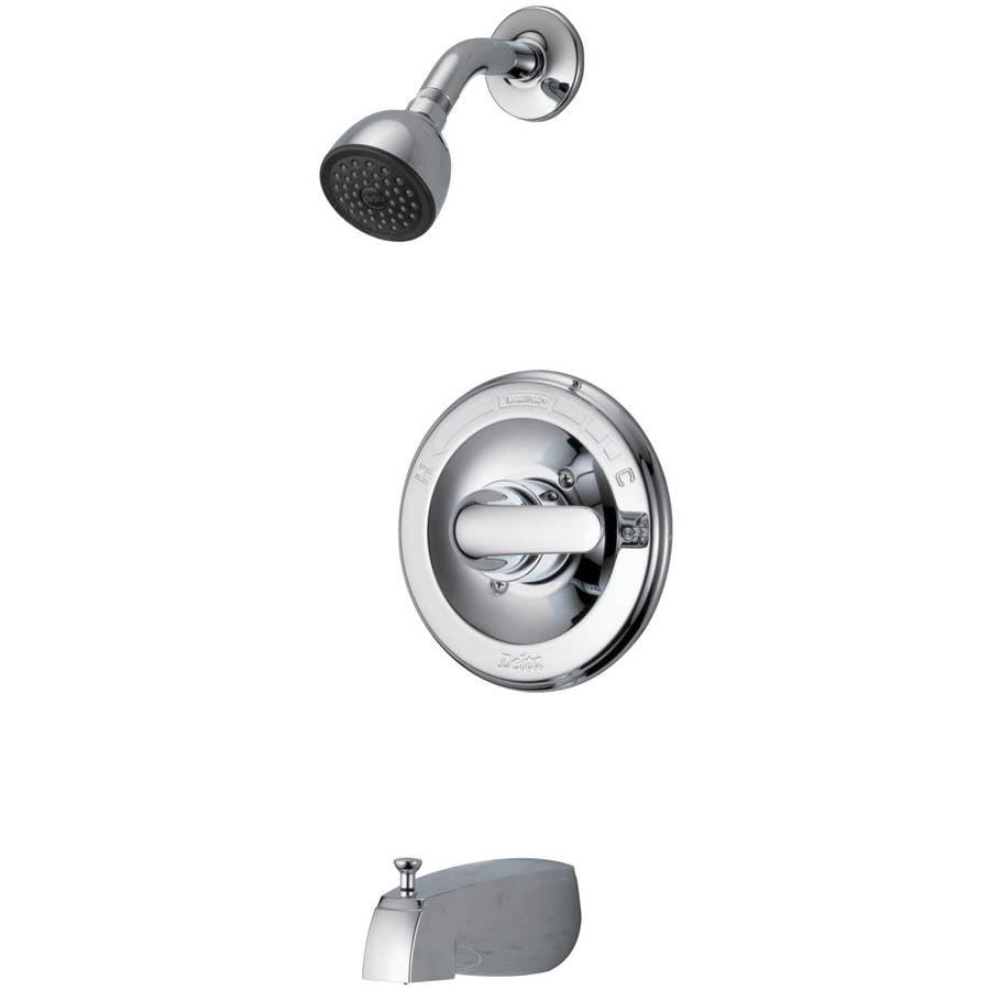 Delta Ara 567LF-TP Single Handle Tract-Pack Bathroom Faucet ...