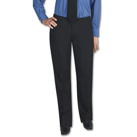 Henry Segal Women's Tuxedo Pants Flat Front Low Rise with Satin Stripe Womens Low Rise Sport Pant