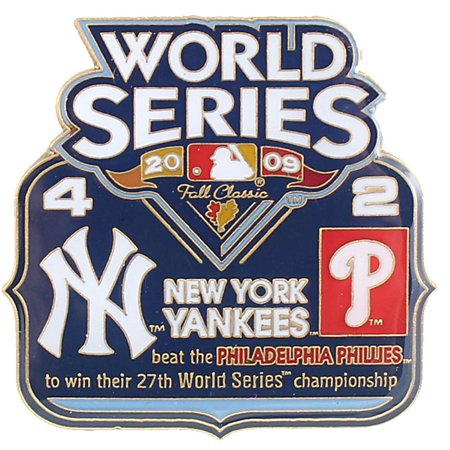 2009 World Series Commemorative Pin - Yankees vs. Phillies 2009 Yankees World Series