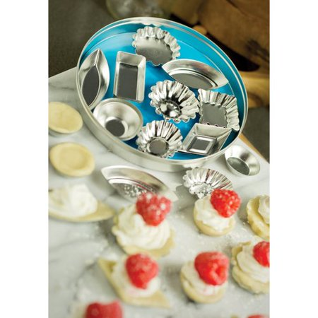 Fox Run Brands 36-Piece Mini Tartlet Set