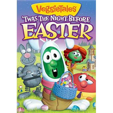 Veggie Tales: Twas The Night Before Easter (DVD) (Veggie Tales Halloween)