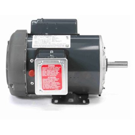 1 hp 1725 RPM 56 Frame TEFC (Farm Duty)115/208-230V Marathon Electric Motor # F104 220 Volt Tefc Motor