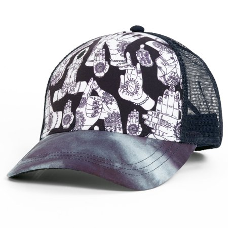 Turtle Fur Mudra Trucker Hat
