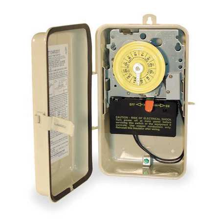 Intermatic 2-Circuit 24 Hour Swimming Pool Time Switch - T104P201
