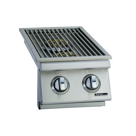 Bull Outdoor Products Liquid Propane Double Drop-In Side Burner ()
