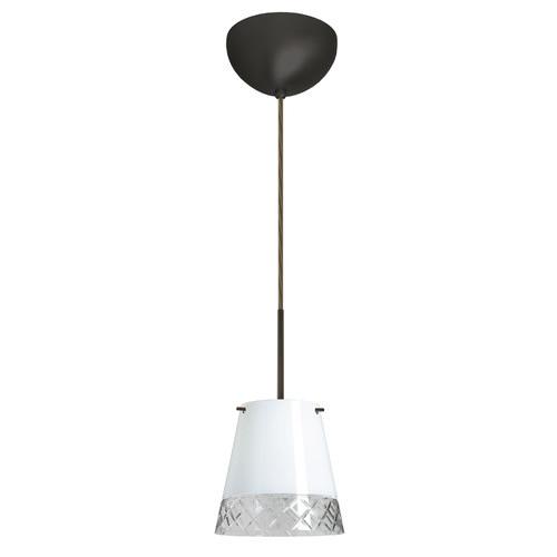 Besa Lighting  1BC-4477WC  Pendants  Amelia  Indoor Lighting  ;Bronze