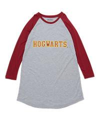 Harry Potter 'Hogwarts Varsity Quidditch' Raglan Nightgown (Little Girls & Big Girls)