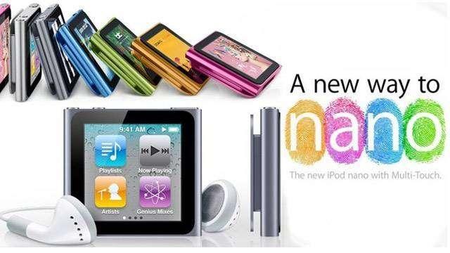 apple ipod nano 6th generation 16gb silver discontinued by rh walmart com