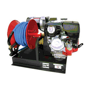 Mobile Wash System Pressure Washer w/Generator