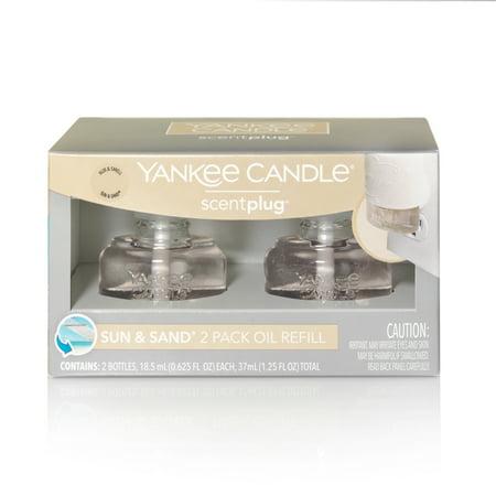 Yankee Candle Sun Sand Scentplug Refill 2 Pack Walmart