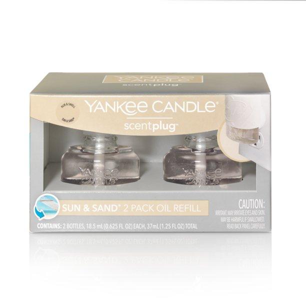 Yankee Candle Sun Sand Scentplug Refill 2 Pack Walmart Com Walmart Com