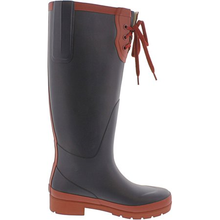 Tretorn Women's Lacey Rubber Night / Bordeaux Knee-High Rain Boot - 4M - image 2 of 3