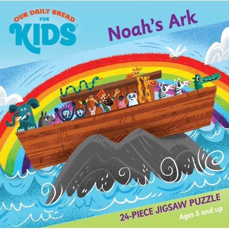 Noah's Ark 24-Piece Jigsaw Puzzle (Other) - Saw Jigsaw Halloween Makeup