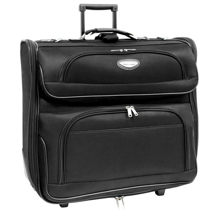 - Traveler's Choice Travel Select Rolling Garment Bag, Black