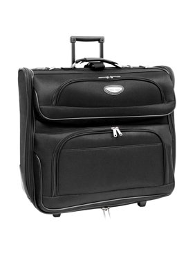 Product Image Traveler S Choice Travel Select Rolling Garment Bag Black