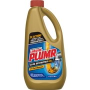 Liquid-Plumr Pro-Strength Full Clog Destroyer Plus PipeGuard, 32 Ounces